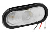 "Bargman® - 6"" Sealed Clear Tail Light"