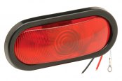 "Bargman® - 6"" Sealed Stop / Tail / Turn Light with Grommet and 90 Degrees Pigtail"
