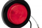 "Bargman® - 30 Series Sealed Red Clearance Light with Grommet and 6-1/2"" Pigtail"