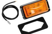 Bargman® - 37 Series Sealed Clearance Light with Black Base and Wire