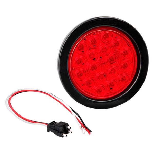 "Bargman® - 4"" LED Waterproof Tail Lamp with Grommet and Plug"