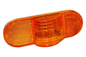 "Bargman® - 6"" Amber Mid-Turn Light"
