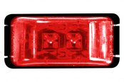 "Bargman® - 37 Series LED Red 2"" Marker/Clearance Lamp"