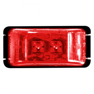 Bargman® - 37 Series LED Red 2 Marker/Clearance Lamp