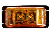 "Bargman® - 37 Series LED Amber 2"" Marker/Clearance Lamp"