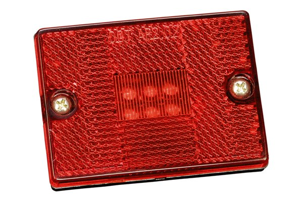 Bargman® - 42 Series LED Red Clearance / Side Marker Light