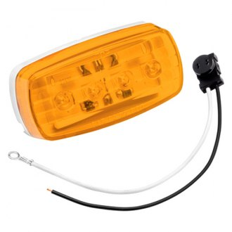Bargman® - 58 Series LED Amber Side Marker Clearance Light with Pigtail