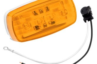 Bargman® 47-58-032 - 58 Series LED Amber Side Marker Clearance Light with Pigtail