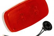 Bargman® - 59 Series LED Red Clearance / Side Marker Light