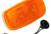 Bargman® - 59 Series LED Amber Clearance / Side Marker Light