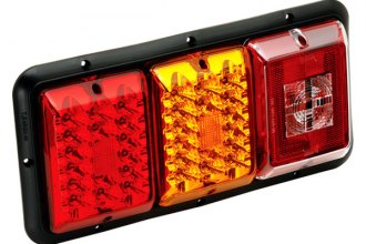 Bargman® - 84 / 85 Series LED Red / Amber Triple Tail Light