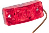Bargman® - 99 Series Waterproof LED Red Side Marker Clearance Light