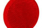 "Bargman® - 2-3/16"" Adhesive Mount Red Reflector"