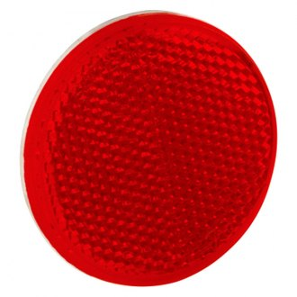 Bargman® - 2-3/16 Adhesive Mount Red Reflector