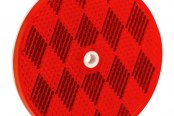 "Bargman® - 3-3/16"" Red Reflector"