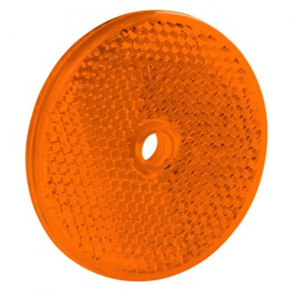 Bargman® - 2-3/16 Amber Reflector with Center Mounting Hole