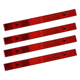 Bargman® - 1.1x12 Red Reflector Set