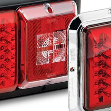 BARGMAN® - LED Double Red Tail Light