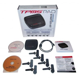 Bartec USA® - TPMS Programming Accessory Device Starter Kit with Sensors