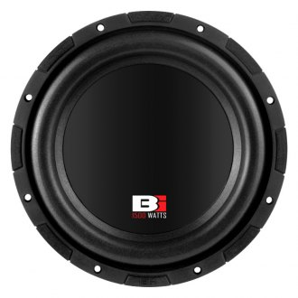 "Bass Inferno® - 10"" 1500W 4 Ohm BSW Series SVC & DVC Subwoofer"