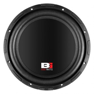 "Bass Inferno® - 12"" 1500W 4 Ohm BSW Series DVC Subwoofer"
