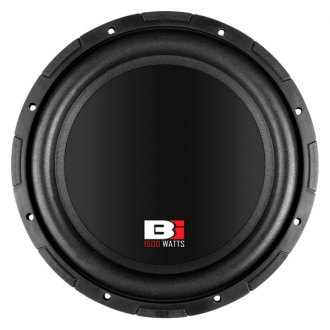"Bass Inferno® - 12"" 1500W 4 Ohm BSW Series Subwoofer"
