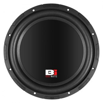 "Bass Inferno® - 12"" 1000W 4 Ohm BW Series Subwoofer"