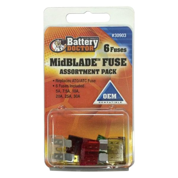 Battery Doctor 30903 ATC//ATO Blade Fuses Assortment