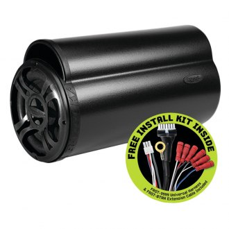"Bazooka® - 8"" BT Series Single Tube Powered 100W Subwoofer Enclosure with Free Installation Kit"