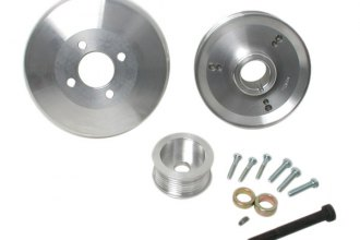 BBK® - Power-Plus™ Polished Aluminum Underdrive Pulley System with Crank Pulley