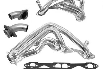 BBK® - Chrome Shorty Headers