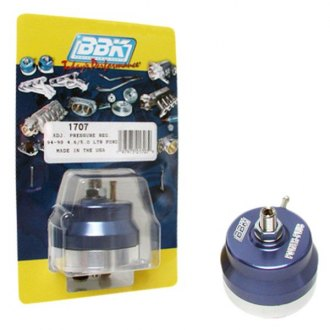 BBK® - Billet Aluminum Blue Anodized Fuel Pressure Regulator