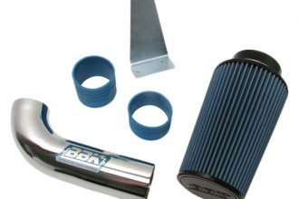 BBK® - Chrome Cold Air Intake System with Polished Cast Aluminum Inlet