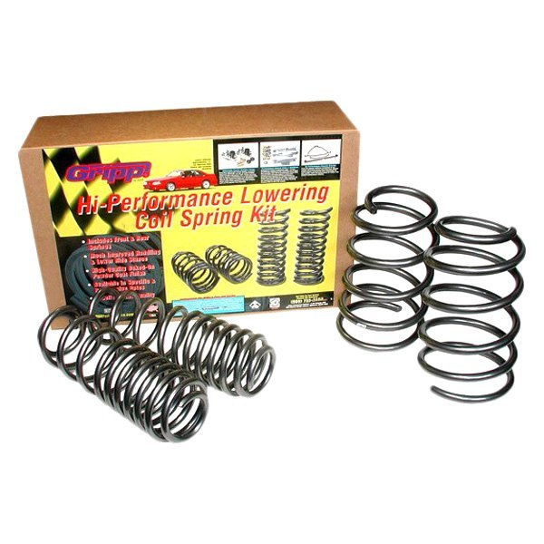 "BBK® - 1.5"" x 1.5"" Gripp™ Front and Rear Lowering Coil Springs"
