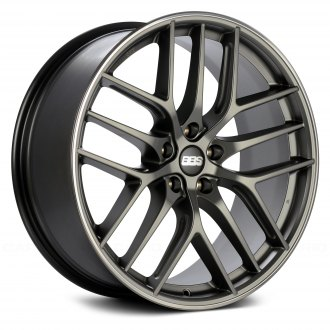 BBS® - CC-R Satin Platinum with Polished Stainless Steel Lip