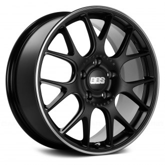BBS® - CHR Black with Polished Stainless Steel Lip
