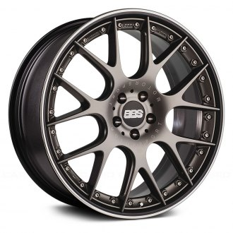 BBS® - CH-R II Satin Platinum with Polished Stainless Steel Lip