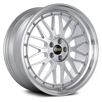 BBS® - LM Diamond Silver with Dia-Cut Rim and Clear Coat