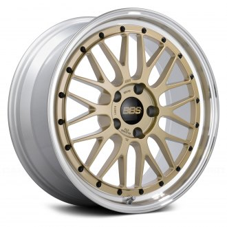 BBS® - LM Gold with Dia-Cut Rim and Clear Coat