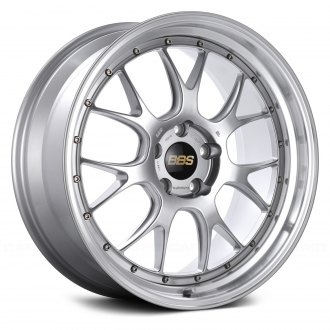 BBS® - LMR Diamond Silver with Dia-Cut Rim and Clear Coat