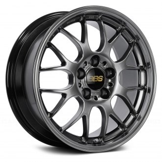 BBS® - RG Diamond Black with Clear Coat