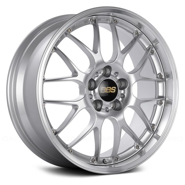 BBS® - RS Diamond Silver With Dia-Cut Rim And Clear Coat