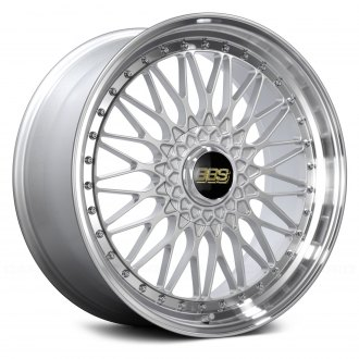 BBS® - SUPER RS Silver with Dia-Cut Rim and Clear Coat