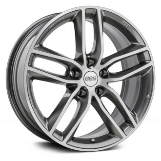 BBS® - SX Platinum Silver with Dia-Cut Face