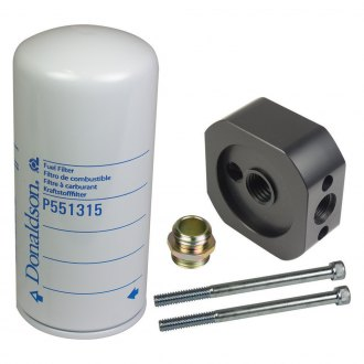 BD Diesel Performance® - Flow-MaX Add-On Post Fine Particle Fuel Filter Kit