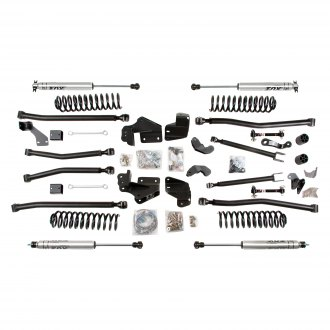 "BDS Suspension® - 4.5"" x 4.5"" Standard Front and Rear Suspension Lift Kit"