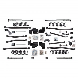 "BDS Suspension® - 4"" x 4"" Standard Front and Rear Suspension Lift Kit"