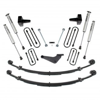 "BDS Suspension® - 4"" x 3"" Standard Front and Rear Suspension Lift Kit"