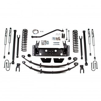 "BDS Suspension® - 1.75"" x 2"" Standard Front and Rear Suspension Lift Kit"