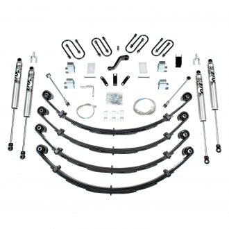 "BDS Suspension® - 3"" x 2.5"" Standard Front and Rear Suspension Lift Kit"